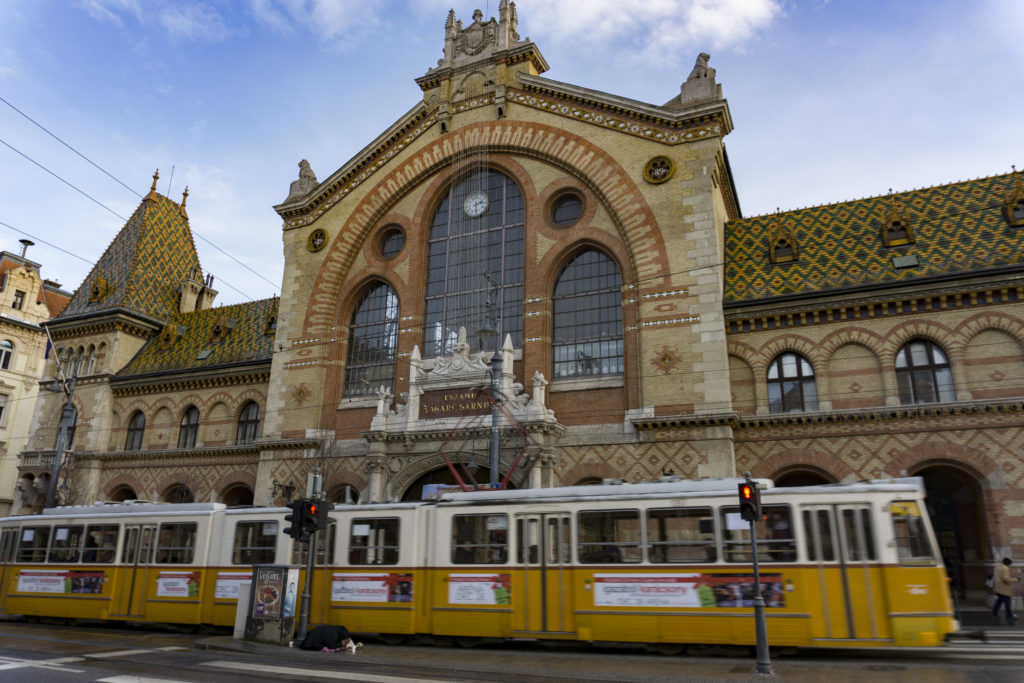 Mercato coperto centrale Budapest
