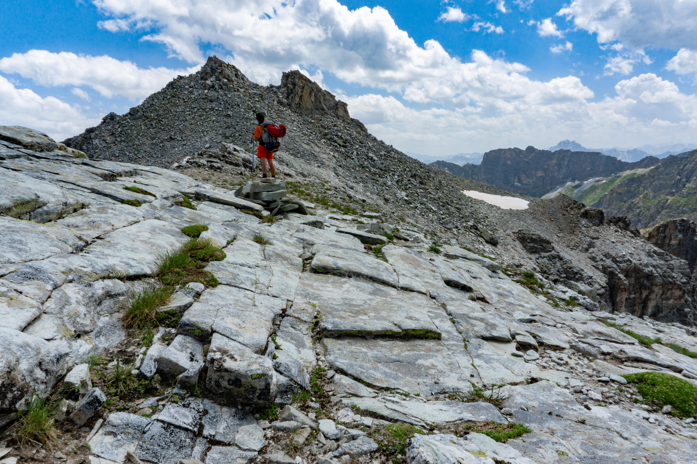Verso il Monte Camoscere