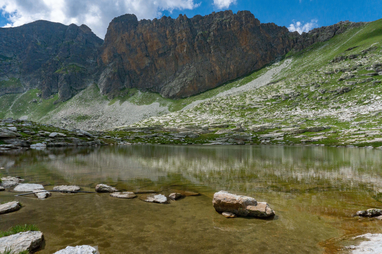 Il lago Camoscere